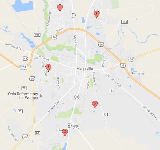 marysville neighborhoods map
